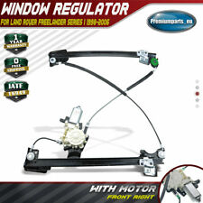 Window Regulator With Motor for Land Rover Freelander 98-06 Front Driver Right