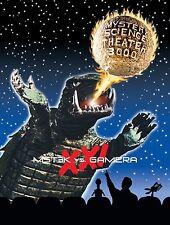 MST3K VS GAMERA Mystery Science Theater 3000 Vol XXI DELUXE TIN DVD Box Set V34