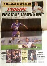L'Equipe Journal 7/9/2000; A Douillet le drapeau/ Paris coule, Bordeaux revit