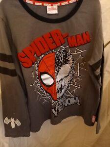 Boys Spiderman Pyjamas Age 9-10