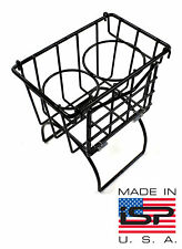 New VW Accessory Utility Tunnel Basket Black Type 3 Bug Ghia