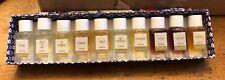 Fragonard Mini Parfum Perfume Gift Set OF 10 Miniatures New In Box