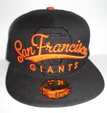 San Francisco Giants Authentic New Era 59Fifty Script Fitted Size 7 1/8 Cap Hat