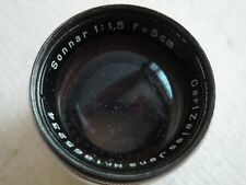 Zeiss Sonnar 5cm/1.5  in M39  for Leica SM