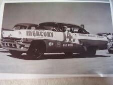 1956 MERCURY  NASCAR  11 X 17  PHOTO /  PICTURE