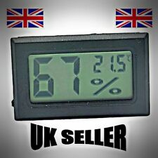 Digital Thermometer Hygrometer, Temperature Humidity Meter, LCD Display,FREE P&P