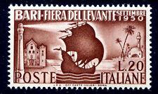 FIERA DEL LEVANTE DI BARI  1950 NUOVO **