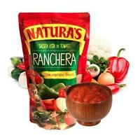 Naturas Ranchera Sauce 14 oz (4 PACK) Natura's Salsa Ranchera Vegetales 14 oz