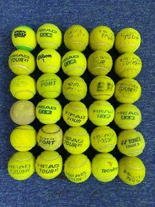 Used Tennis balls x 30
