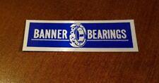 Banner Bearings Mid-80's Hard Hat Coal Sticker