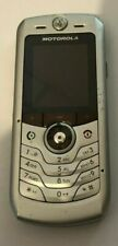 Motorola Slvr L2 Silver (Cingular) Cellular Phone Fast Ship Vintage Good Used