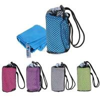 Outdoor Travel Camping Microfiber Fast-Drying Towel Shower Beach Hiking Caving