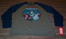 VINTAGE STYLE Marvel Comics CAPTAIN AMERICA T-Shirt SMALL NEW Avengers