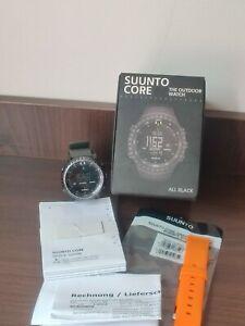 Suunto Core All Black Armbanduhr für Herren
