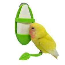 Parrot Feeder With Standing Rack Vegetable Holder Plastic Hanging Food Container
