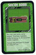 Frag Gold Promo Card Suicide Bomb Steve Jackson Games