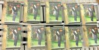 Lot of 10 2001 Upper Deck Tiger Woods Rookie Year Tiger Tales 30-card set NM-MT