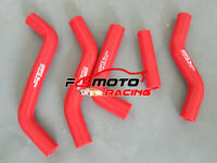 For Suzuki RMZ250 RMZ 250 07 08 09 2007 2008 2009 silicone RADIATOR HOSE red