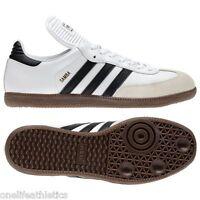 Men Adidas Samba Original 772109 White Black 100% Authentic Brand New