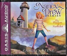 NEW Nancy Drew Diaries The Phantom of Nantucket Carolyn Keene Audio Book 7 CD