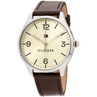 Tommy Hilfiger Essentials Quartz Movement Beige Dial Men's Watch 1791521