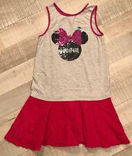 Disney 10 ANS  Fille: Robe Minnie Été Paillettes  BE