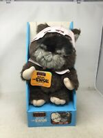 VINTAGE - 1983 -  KENNER - STAR WARS - ROTJ - PAPLOO - THE EWOK - NEW IN BOX
