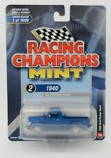 2019 RC 1:64  RACING CHAMPIONS MINT 3A = BLUE 1940 Ford Pickup Truck NIP