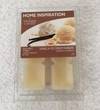 Home Inspiration Yankee candle wax melt cubes Vanilla Ice Cream Sundae
