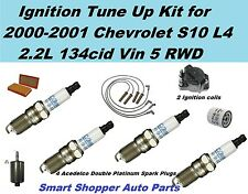 Ignition Tune Up For 00-01 Chevrolet S10 L4 Ignition Coil, Spark Plug Oil Filter