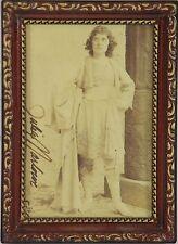 O2-044. JULIA MARLOWE ORIGINAL AUTOGRAPH. ACTRESS. 1892