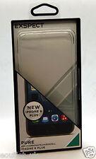 Aspettiamo puro in policarbonato Guscio Duro Custodia Cover per iPhone 6 PLUS Chiaro Nuovo
