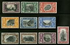 St Helena   1934   Scott # 101-110   Mint Lightly Hinged Set