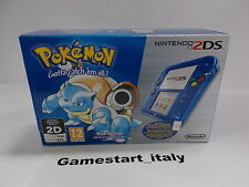 CONSOLE NINTENDO 2DS BLUE POKEMON VERSION - NEW PAL VERSION - RARE