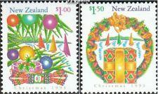 Nieuw-Zeeland 1298A-1301A Blok van vier, 1302A-1303A (compleet Kwestie) postfris