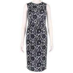 Dolce & Gabbana Floral Lace Print Shift Dress IT38 UK6