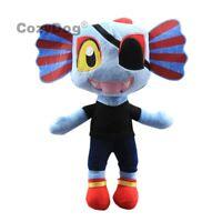 11'' Undertale Undyne Plush Toy Soft Stuffed Animal Doll Figure Birthday Gift