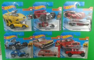 2020 Hot Wheels Cars on short cards No.121 to No.180 - (Choose the one you want)