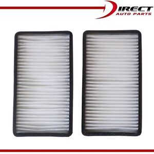 C15471 Set Cabin Filter For Buick Oldsmobile Saturn Chevy Pontiac OE#GM 10322538