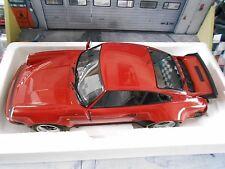 Porsche 911 930 Turbo Coupe perú red rojo 3.0 1976 Minichamps top rar enorme 1:12