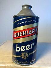 Koehler'S Beer 12Oz Cone Top Beer Can