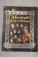 The Merchant's Guide to Rokugan supplement USED Legend of the Five Rings AEG