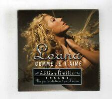 CD SINGLE (NEUF) LOANA COMME JE T'AIME(EDITION LIMITEE)