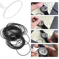 950pcs 0.6mm O-Ring Set Sealing Ring Watch Rubber Seal Size 12-30mm Repair Parts