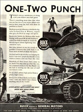 1944 WW2 AD BUICK builds Army M-18 Hellcat & Pratt Whitney B-24 Engines 073119
