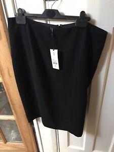 Hobbs Ladies Black Pencil Skirt Size 16