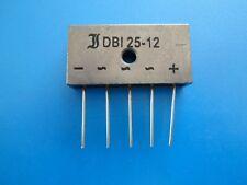 Diotec semiconductor dbi25-12 3 desequilibradas puentes rectificador 1200v 25a * nuevo *