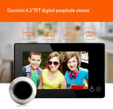 4.3 inch TFT Screen LCD Peephole Camera Viewer Door Doorbell Auto Power Saving