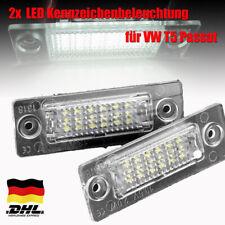 2x LED Kennzeichenbeleuchtung für VW Passat T5 Caddy Transpiarter Golf Plus neu