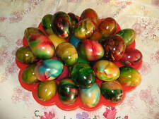 6 colours Paint Color Dip Decorate Dye Dyeing EASTER EGG fun - UK seller
